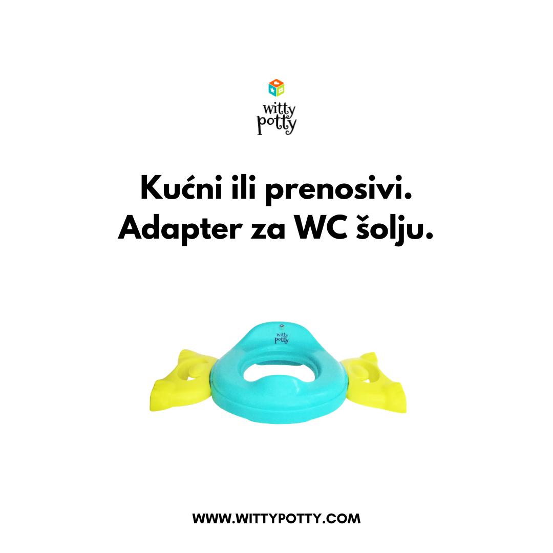 Witty Potty NOŠA/ADAPTER